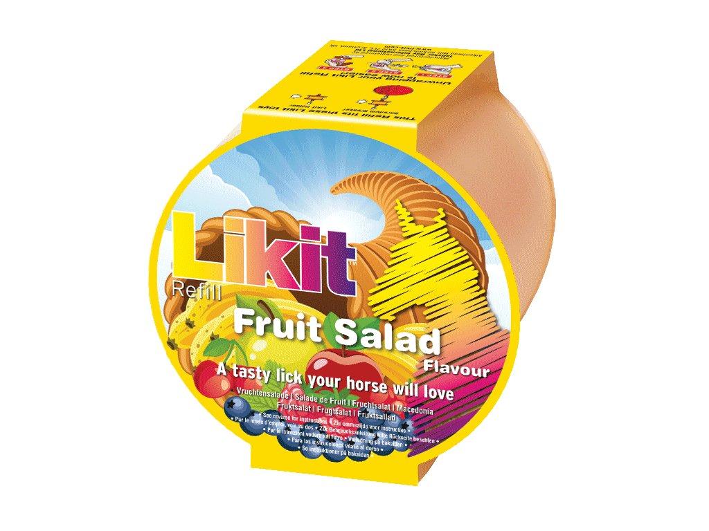 Liz pro koně Likit náhradní náplň ovocný salát 650gr