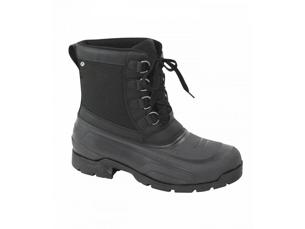 Stájové boty Montreal black Elt