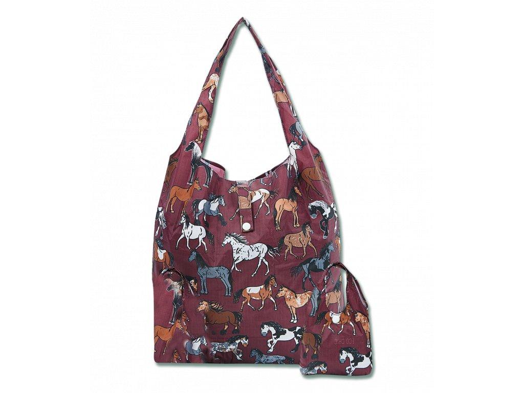 Nákupní taška s potiskem koní Waldahusen