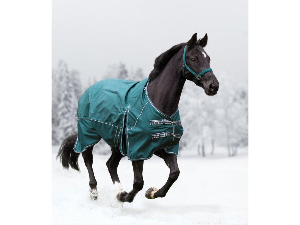Deka výběhová Comfort Fleece fir green Waldhausen