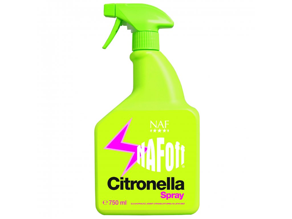 NAFOFF citronella 750ml czech
