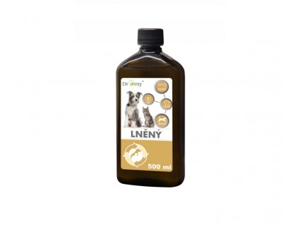 Dromy Lněný olej 500 ml