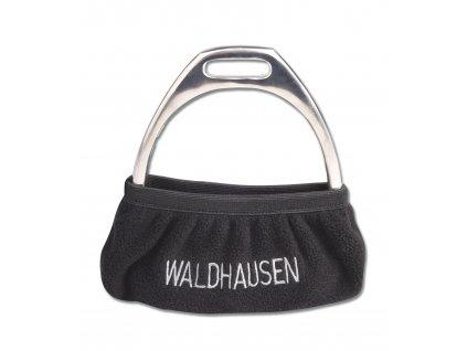 Obal na třmeny černý Waldhausen
