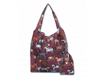 Nákupní taška s potiskem koní Waldhausen