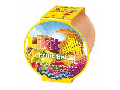 Liz pro koně Likit náhradní náplň ovocný salát 250gr