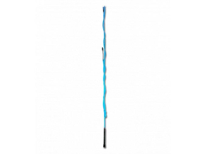 376 bic lonzovaci dvoudilny azurove modry 200cm