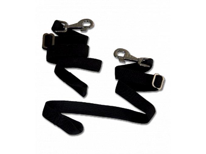 Pásky elastické k dece s karabinami Waldhausen