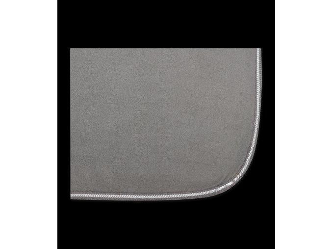 631 odpocovaci deka fleecova economic waldhausen grey 135cm