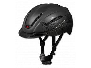 JEZDECKÁ PŘILBA SWING H12 černá matná/baroko 51-55cm  Jezdecké přilby