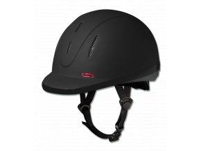 JEZDECKÁ PŘILBA SWING H06 černá matná 54-55cm  Jezdecké přilby