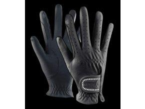 184 rukavice jezdecke elt cerne m