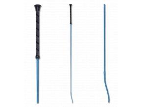 244 bic drezurni s anti slip rukojeti azurove modry 100cm