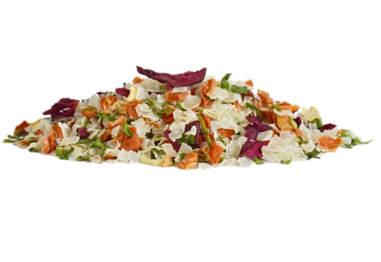 Dromy Instantní rýžové vločky se zeleninou 1000 g Vitamíny a doplňky stravy pro psy