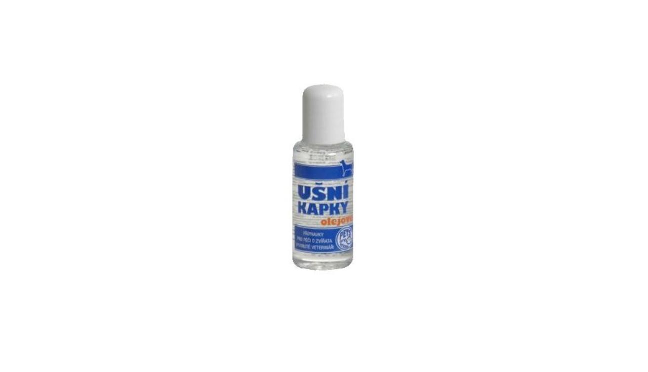 Ušní olejové kapky pro psy 50 ml Kosmetika pro psy