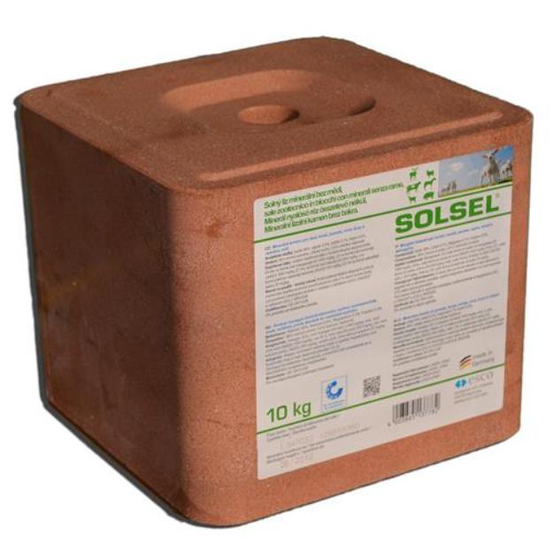 SOLSEL Solný liz bez mědi 10 kg