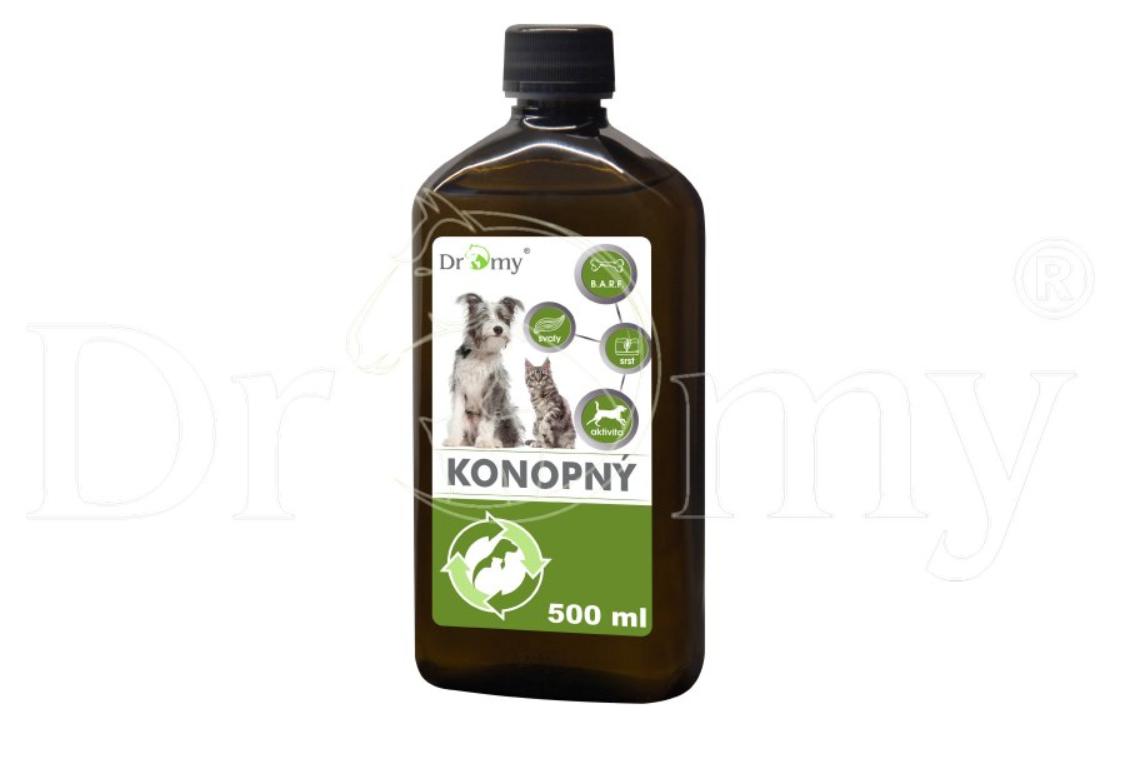 Dromy Konopný olej 500 ml