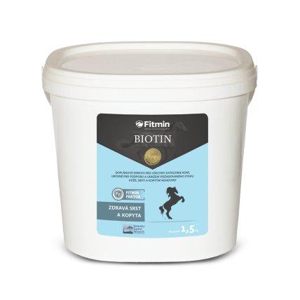 Fitmin vitamínový doplněk pro koně BIOTIN 1,5 kg