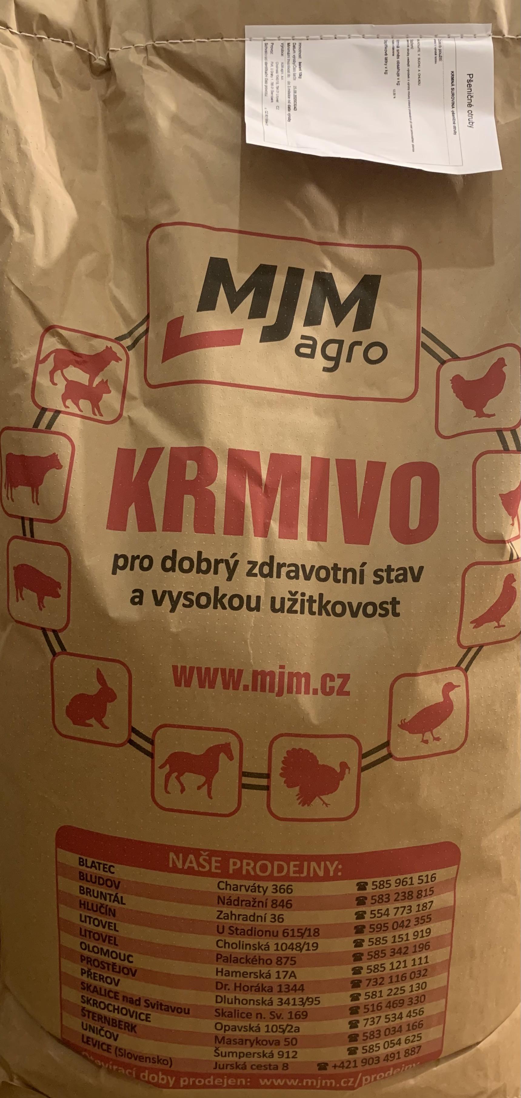 Pšeničné otruby 10kg