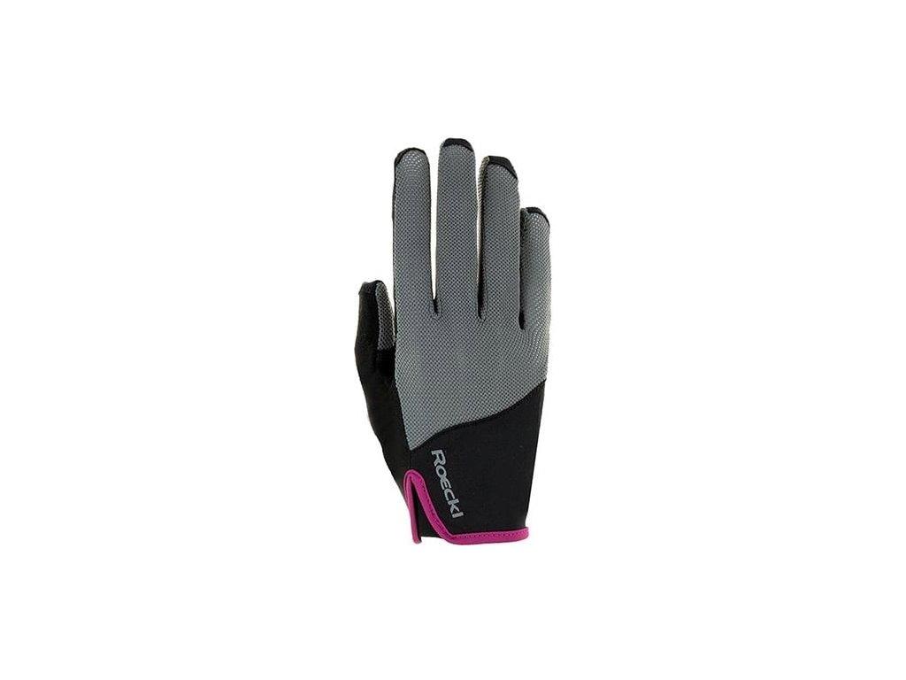 roeckl lynn womens riding glove anthracite 512820 en