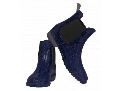 SPARKLE JODHPUR BOOTS NIGHT BLUE