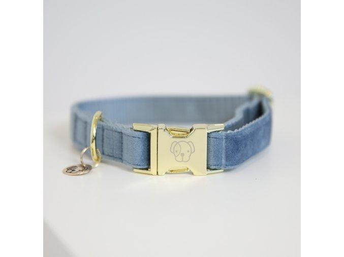 kentucky dogwear dog collars leads dog collar velvet light blue a929523bbdd099ba1a676b6771a9e673 article photobook m