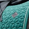 kentucky horsewear saddle pads saddle pad velvet dressage dark green 2 a929523bbdd099ba1a676b6771a9e673 article photobook m