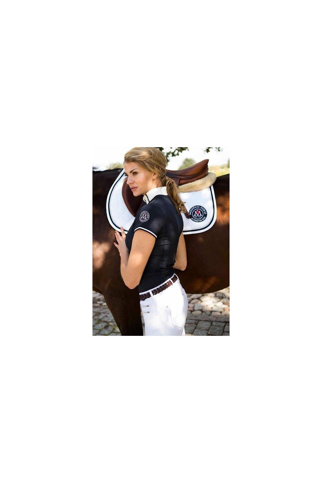 Závodní dámské tričko Rose Tech Mountain Horse