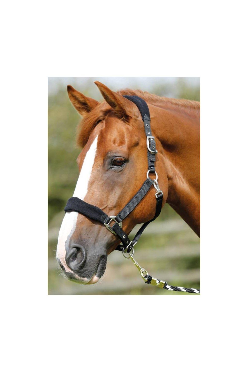 Fleecová ohlávka Premier Equine