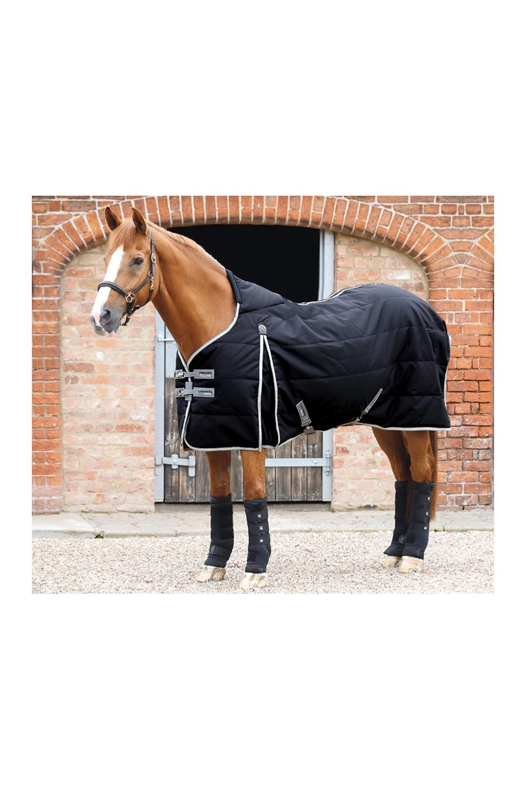AW19 Lucanta Demi Stable Rug 100 Black Main RGB 72 zoom