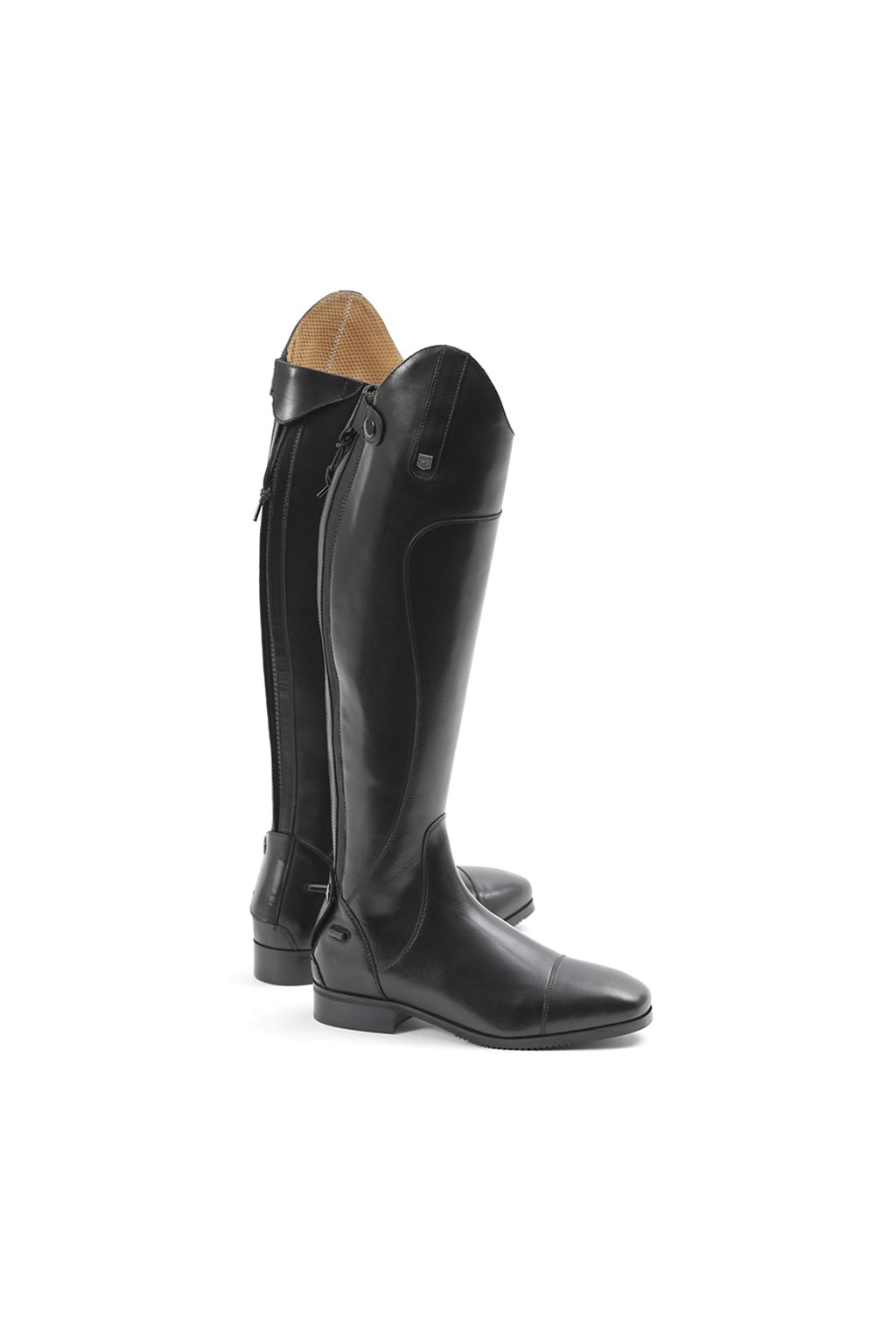 SS19 Mazziano Ladies Long Leather Riding Boot Black Main Image RGB 72 zoom