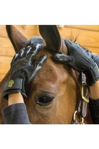 Čistící a masážní rukavice Hands On Gloves