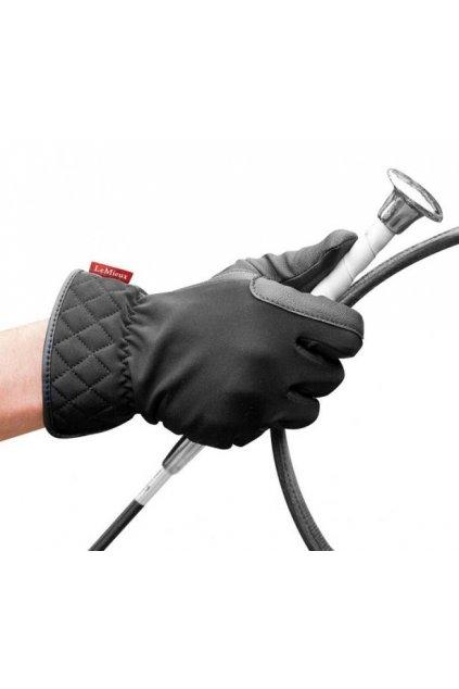 Jezdecké rukavice All weather Pro touch LeMieux
