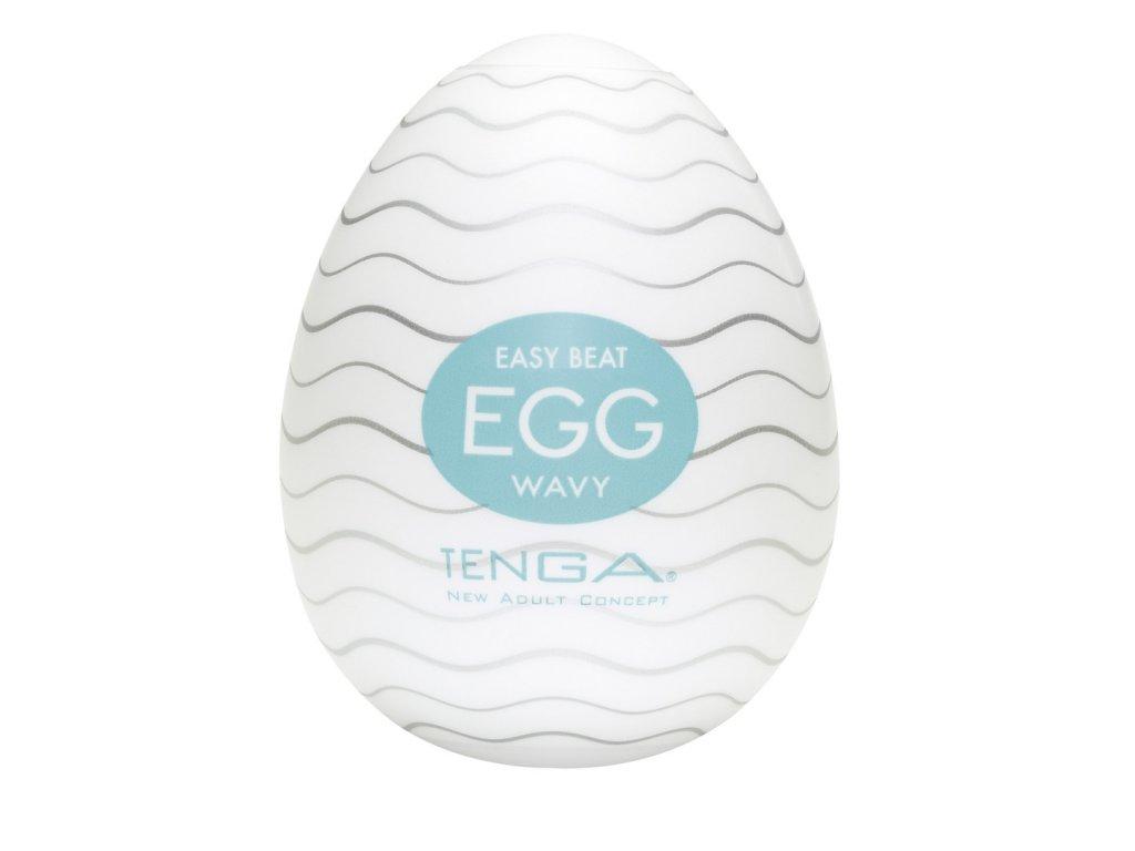 Masturbační vajíčko Tenga Egg Wavy
