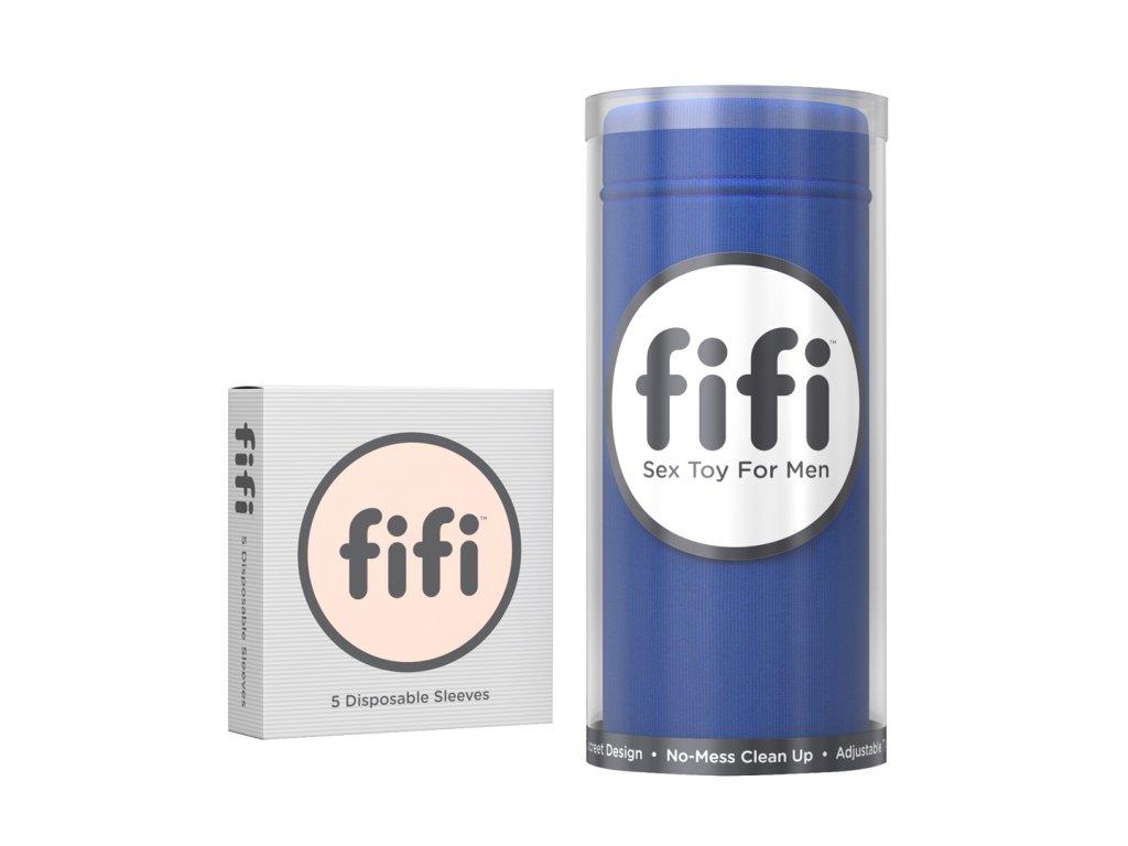 Masturbátor Fifi s 5 náhradními návleky