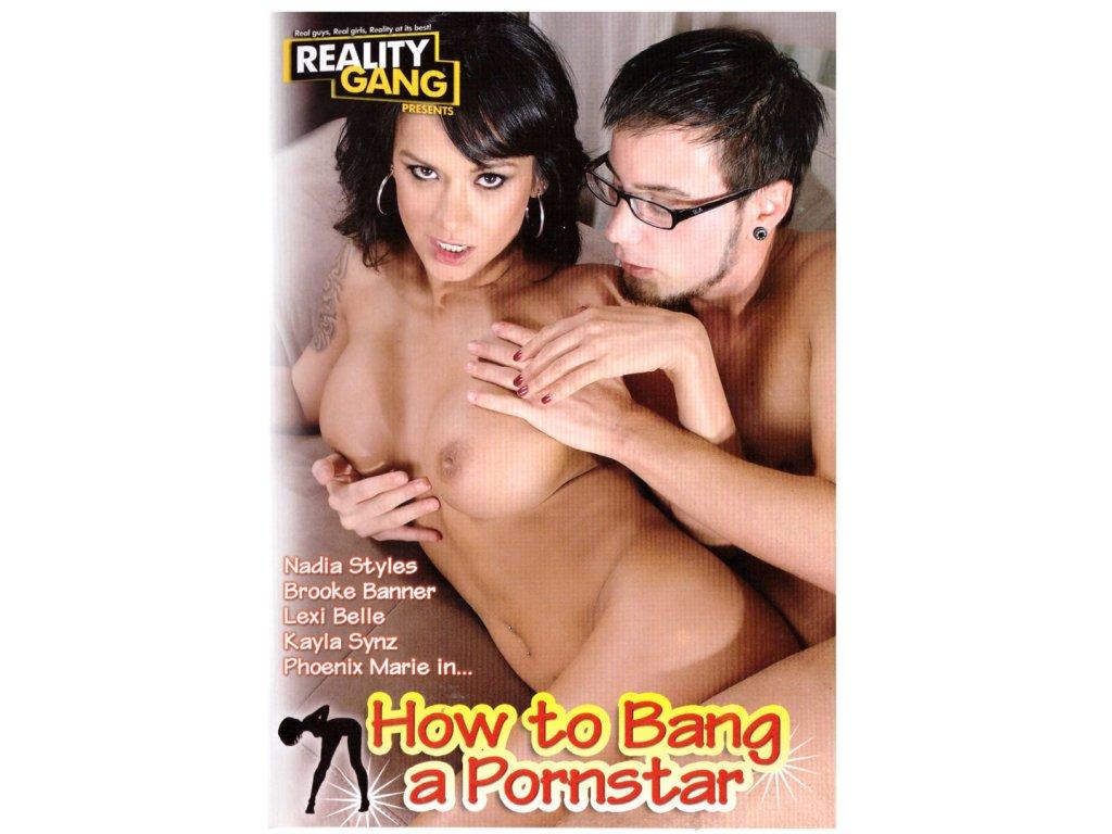 DVD - How to bang a pornstar - Hvězdný sex <br />120 MINUT, DVD