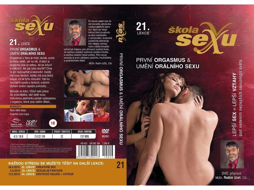 21.lekce - První orgasmus