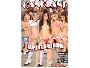 DVD - Gangland 3 - Super Gang Bang s černochy<br />157 MINUT, DVD