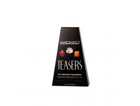 Sada lubrikantů WICKED Teasers - Refill 10 x 3 ml