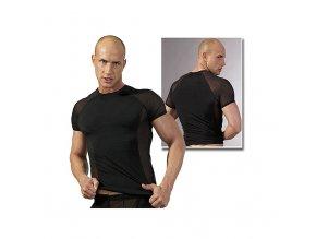 Pánské černé triko s raglánovým rukávem (M, L, XL, S)