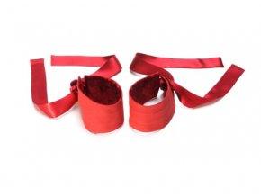 Lelo Etherea Silk pouta - Červená
