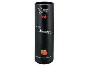 Plaisirs Secrets Huile Massage Oil jahoda 59 ml