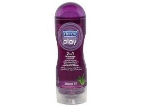 DurexPlay massage & lubricant s Aloe Vera