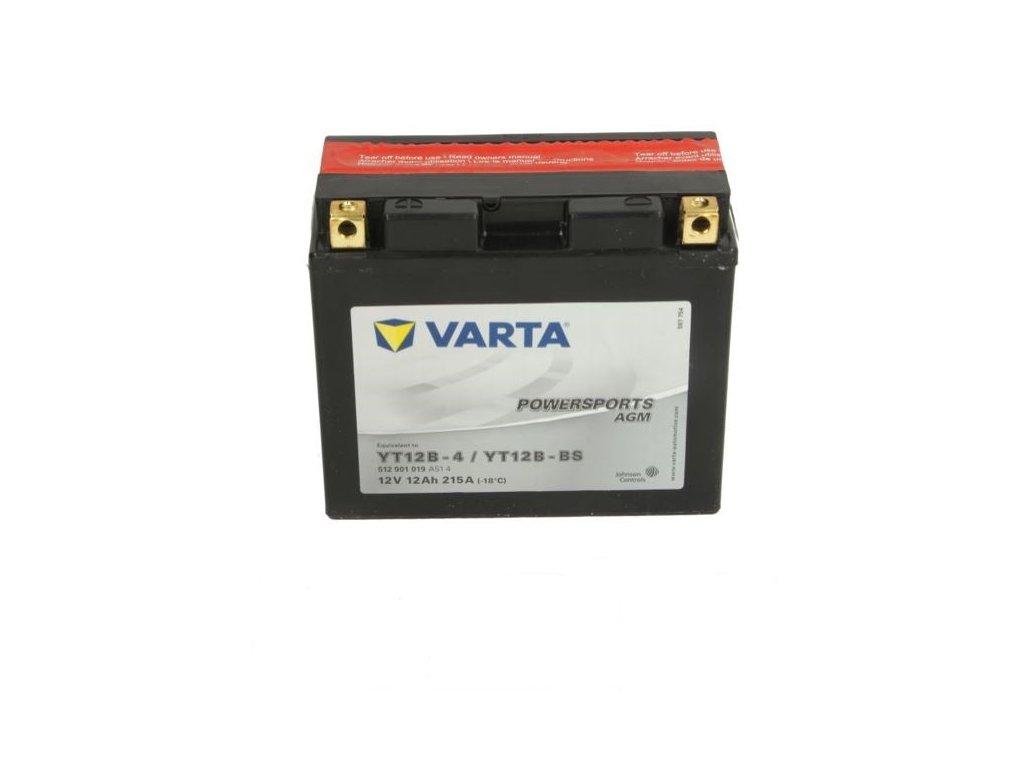 Baterie Startovaci VARTA 2
