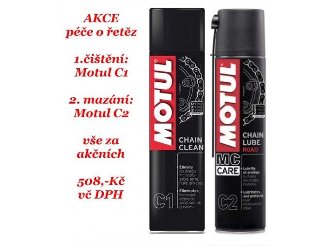 Motul AKCE C1 a C2 společně