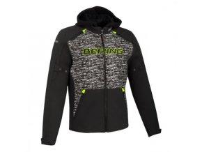 Textilní bunda Drift čer šed1