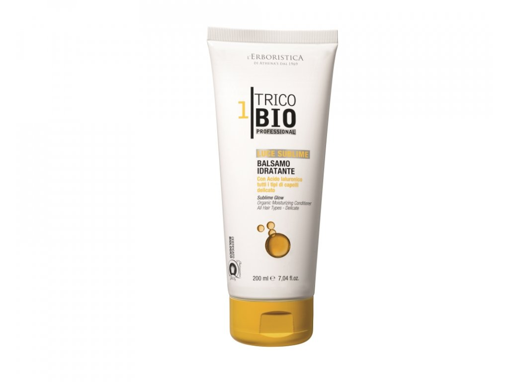 Erboristica TricoBio Sublime Glow kondicionér hydratační 200 ml