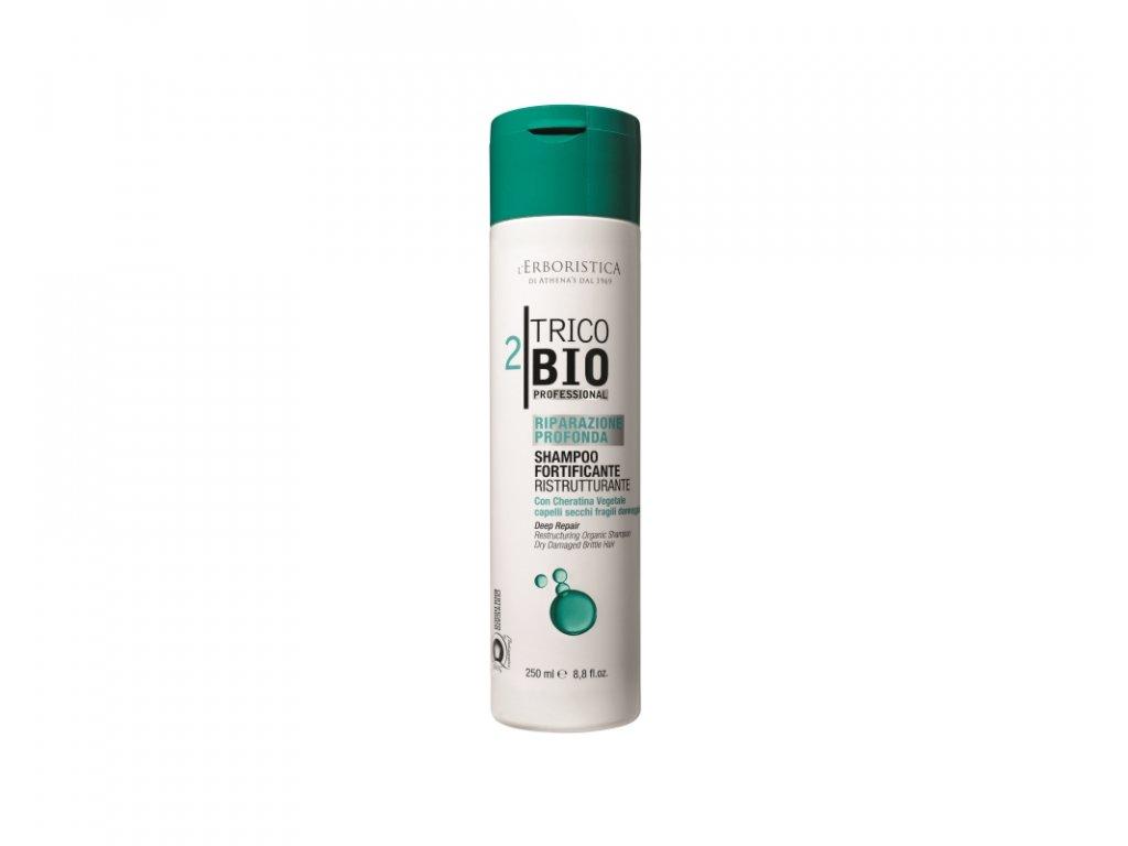 Erboristica TricoBio Deep Repair Šampon reparační srostlinným keratinem 250 ml