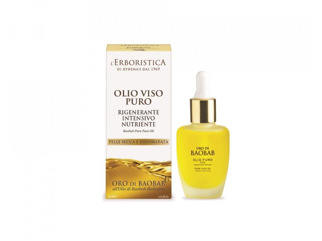 Erboristica Oro di Baobab pleťový baobabový olej 30 ml