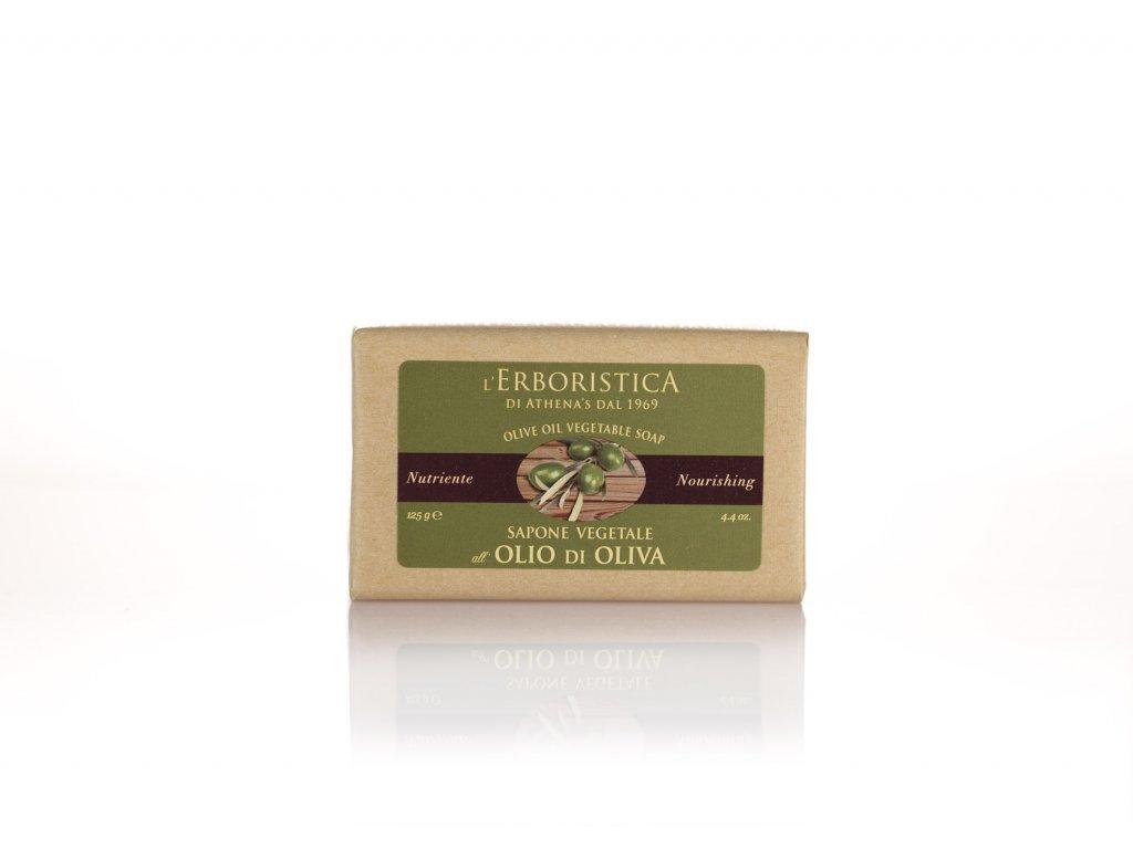 Erboristica Tuhé mýdlo výživné a zjemňující s olivovým olejem a glycerinem 125 g