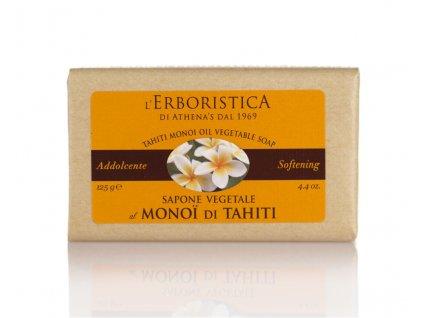 Erboristica Tuhé mýdlo regenerační s kokosovým olejem, Monoi a glycerinem 125 g